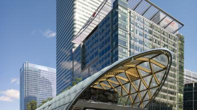 Canary Wharf Crossrail, London