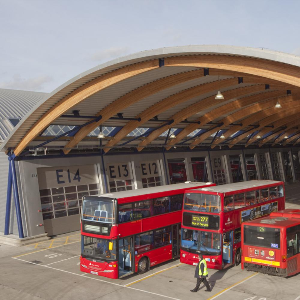picture: West Ham Bus Station, London