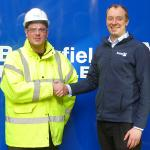 Health and Safety award for Briggs & Forrester plumber from Brookfield Multiplex