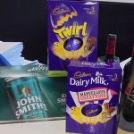Easter raffle in aid of Cystic Fibrosis Trust